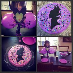 Sophia's Maleficent Birthday Party