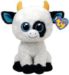 Ty Beanie Boos-Daisy the Cow! Ty Beanie Boos, Beanie Babies, Ty Boos, Ty Babies, Big Eyed Stuffed Animals, Big Eyed Animals, Ty Animals, Plush Animals, Ty Peluche