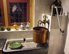 Rembrandt's kitchen, the Rembrandt House and museum. Don't miss it!