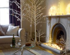 Our Habitat, design inspiration & home decor ideas Merry Christmas To All, All Things Christmas, White Christmas, Christmas Crafts, Christmas Decorations, Magical Christmas, Christmas Design, Small Apartment Decorating, Decorating Your Home