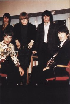 Stones mid 60's Check out Mick's floral shirt!
