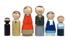 DIY peg doll family: Last minute Father's Day idea that the kids can make