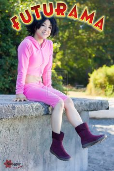 "Very neat #Futurama #cosplay of ""Amy Wong"" by lillybearbutt ( Riri リリ ). Photo by NW Cosplay."