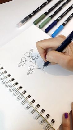 A Z 37 Legjobb Kep A Z Tombow Dual Brush Pen Tablan Calligraphy