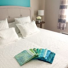 INTRODUCING QUILTsocial Spectrum Quilt-A-Long! - QUILTsocial Bed Scarf, Blue Armchair, Quilt Batting, Bed Runner, Queen Size Bedding, Cotton Quilts, Design Your Own, Quilting Designs, Quilt Blocks