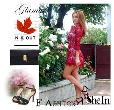 """Sheinside X-6"" by zijadaahmetovic ❤ liked on Polyvore featuring Sheinside"