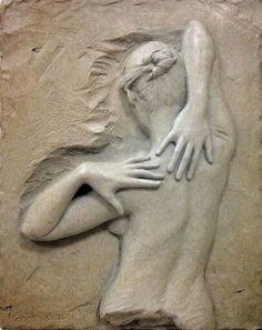 art - sculptures - philip moerman - www. Plaster Sculpture, Plaster Art, Pottery Sculpture, Stone Sculpture, Sculpture Clay, Wall Sculptures, Wood Carving Art, Stone Carving, Wood Art