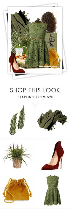 """""""greenday"""" by nanni33 ❤ liked on Polyvore featuring Bobbi Brown Cosmetics, GALA, Clare V. and Valentino"""