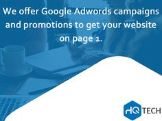 Google Adwords is an easy way to advertise, with the opportunity to publish ads. This online advertising tool, which has a high turnover rate when used correctly, also increases the competition in keywords. #HQtech #business #IT #sales #technology #HQ #tech