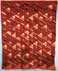 1000 pyramid quilt | Thousand Pyramids