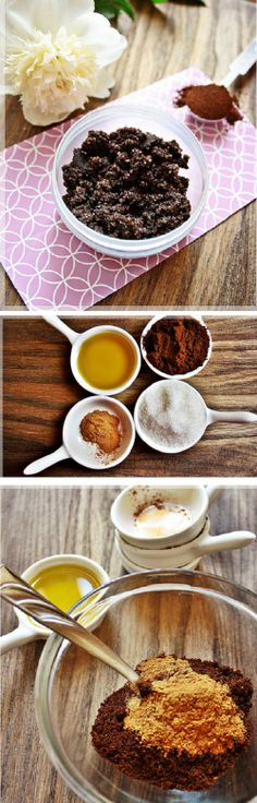 Scrub with coffee and cinnamon | Craft Your Beauty