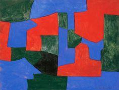 Composition Abstraite - Gouache - Works - Serge Poliakoff - Artists - Gallery Ludorff