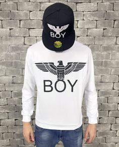 Boy London, Graphic Sweatshirt, Street Style, Sweatshirts, Boys, Sweaters, Shopping, Art, Fashion