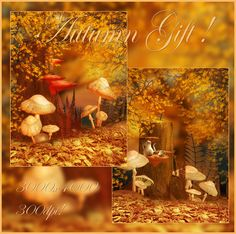 Autumn Gift backgrounds by moonchild-ljilja.deviantart.com on @DeviantArt