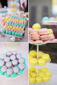 Pastels just in time for Easter. Photos by Esther Sun Photography, via Onto Baby.