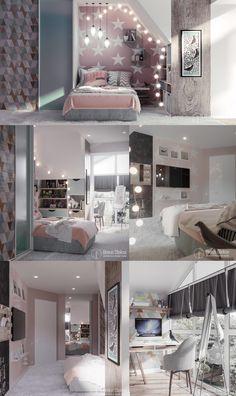 Bedroom kids boys design quartos Ideas for 2019 Room Design, New Bedroom Design, Bedroom Design, Luxurious Bedrooms, Pink Bedroom Decor, Simple Bedroom, Boys Bedrooms, Trendy Bedroom, Dream Rooms