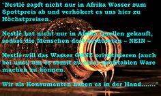 """WasDerBürgerSoLiest: Nestlé: """"Wasser ist KEIN Menschenrecht !"""" - Wasser..."""