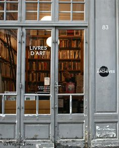 Located in the Marais, the outside caught my eye before the book filled interior! It stocks books dedicated to art and artists of the 20th Century. Maybe one day I'll have more time than I did this day, and can step inside for browse.Librairie des Archives83 rue Vieille de Temple75003 Paris