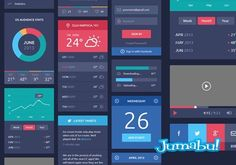 Plantilla PSD para Diseñar tu Sitio Web | Jumabu! Design Tools - Vectorizados - Iconos - Vectores - Texturas