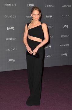 Jennifer Morrison in Reem Acra Jumpsuit