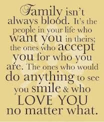 Family is those who surround you