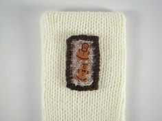 12th in a series of 24 - little picture - The Night Before Christmas knitted box