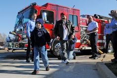 Lemay firefighters respond to terminally ill boy's dream