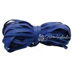 Cinta de Rafia para #packaging, Azul Eléctrico, rafia rústica, para completar tus envoltorios de regalo.   #diy  #packaging