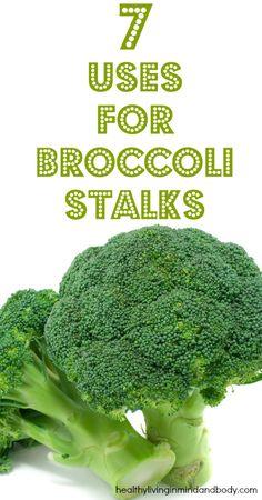 7 Uses for Broccoli Stalks