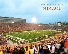 One of my favorite places...... Faurot Field