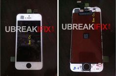 We have a hot new news for iPhone users. As it is said that iPhone users are found to be in love with their devices, this news could be of great interest for them. Earlier today UBreakFix received some photos that revealed the front panel and the screen size for the next generation iPhone.