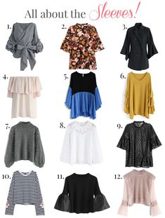 5448b5dca35d0 All About the Sleeves  Affordable Tops
