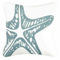 Water's Edge Starfish Rice Stitch Pillow