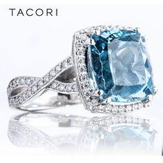 Tacori blue diamond ring! …. love it!