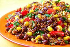 Corn & Black Bean Quinoa Salad Recipe | Gimme Some Oven