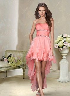 I'm thinking these are going to be the bridesmaid dresses. It will have a camo sash between where the diamond studs are so that it will match my camo/pink theme. The groomsmen will wear a black tux with this color undershirt and a camo tie.
