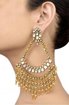 Gold Jewelry From Egypt Indian Jewelry Earrings, Jewelry Design Earrings, Royal Jewelry, Antique Earrings, Antique Jewelry, Jewelry Sets, Gold Jewelry, Jewlery, Buy Gold Jewellery Online