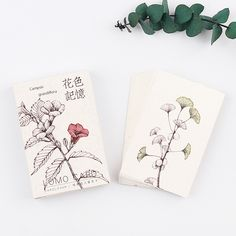 PcsLot Vintage Chinese Style Envelope Paper Lovely Flower