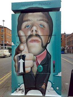 Beyond Banksy Project / Belin