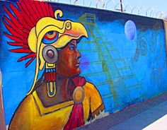 Art A Day- Albuquerque street art near Colorado Elementary #ArtisticNM