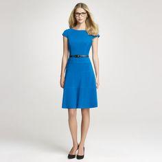 Anne Klein: Dresses > Work > Jersey Swing Dress