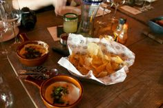 Chips and Queso from Saint Anejo - @Angela Roberts-Spinach Tiger