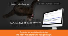 Search Engine Optimization - Fusion Studios Inc Confucius Say, Search Engine Optimization, Seo, Studios, Website, Design