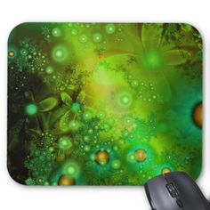 Shop Glow Flys Mouse Mat created by AtomSplitter. Pretty Green, Custom Greeting Cards, White Envelopes, Fractals, Poster Prints, Posters, Green Colors, Night Light, Smudging