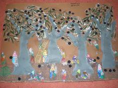 παιχνιδοκαμώματα στου νηπ/γειου τα δρώμενα: ελιά Olive Harvest, Christmas Bulbs, Holiday Decor, Blog, Crafts, Oil, Autumn, Manualidades, Christmas Light Bulbs