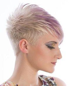 rövid+frizurák+-+szőke+rövid+frizura+lila+melírrel