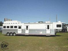 2008 Sundowner Living Quarter Horse Trailer with slide out - EquineRV.com