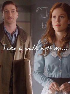 "When Calls the Heart Season 1, Episode 12 - ""Elizabeth, take a walk with me."" #WhenCallsTheHeart #WCTH #Hearties"