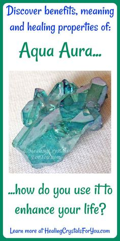 Aqua Aura Quartz is quartz bonded with gold high vibration crystals aids communication clairaudience and automatic writing Healing Crystals For You, Meditation Crystals, Crystals And Gemstones, Stones And Crystals, Gem Stones, Healing Stones, Reiki Meditation, Meditation Music, Blue Aura