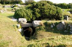 CARN EUNY | Sancreed, Penzance, Cornwall: 'A well-preserved Iron Age village with a stunning fogou, an underground chamber whose purpose is unclear.' 'Its well-preserved fogou leads to a beautiful corbelled inner chamber.' ✫ღ⊰n
